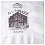 White 3-Ply Luncheon Napkins